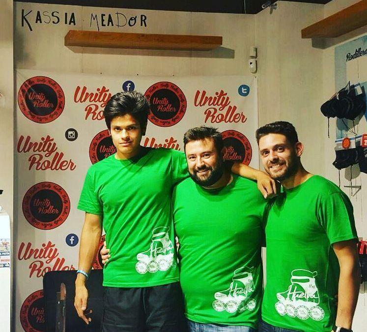 ¡¡Ya han llegado las nuevas camisetas de Huelva en Patines!!