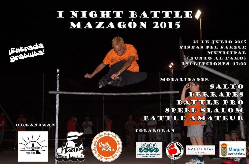 I Night Battle Mazagón 2015 Sábado, 25 de julio a las 17:00
