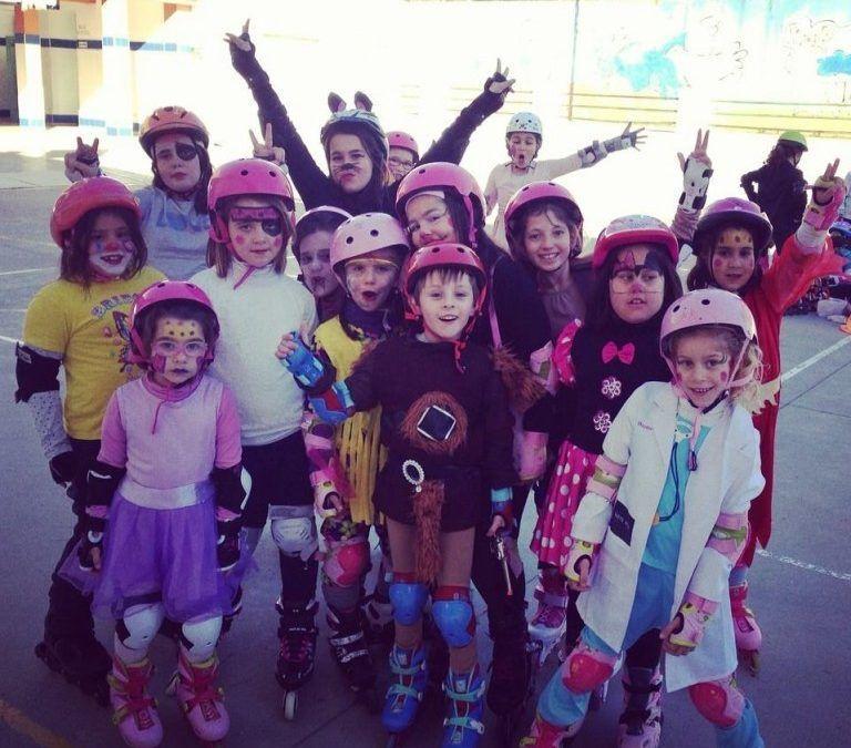 Vive el Carnaval de Huelva en Patines