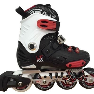 KRF FREESKATE FIRST NEGRO - ROJO