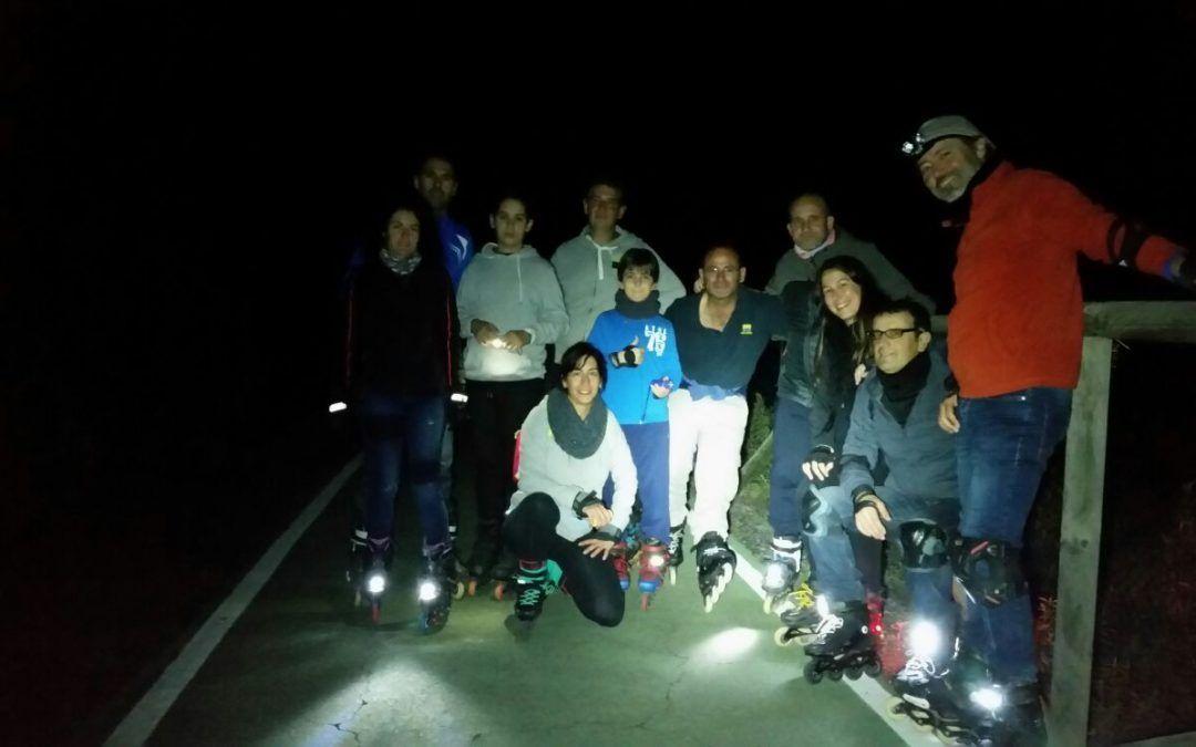 Ruta de patinaje – RutaMiercoles 15-02-2017