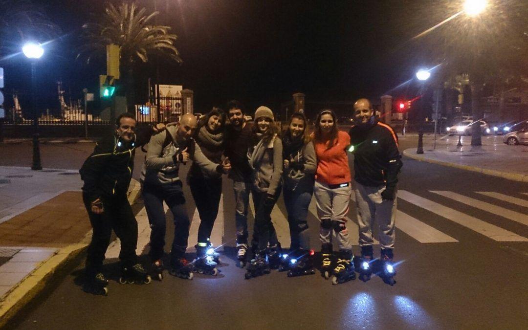Ruta de patinaje – RutaMiercoles 08-03-2017