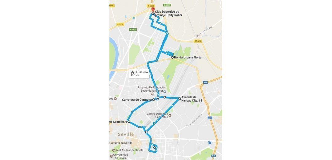 Rutas de Patinaje por Sevilla Unity Roller – 26 de Febrero 2017
