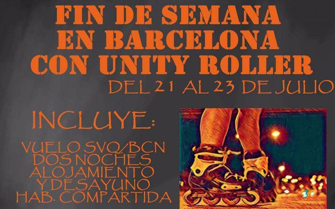 Fin de Semana en Barcelona con Unity Roller – 21 al 23 de Julio