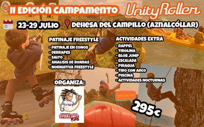 II Edición Campamento de Verano de Patinaje Freestyle Unity Roller