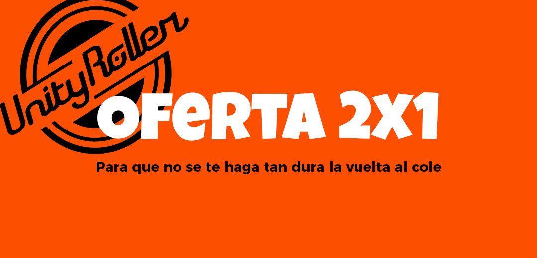 Oferta 2×1 – Comienzo de escuelas Septiembre en Huelva