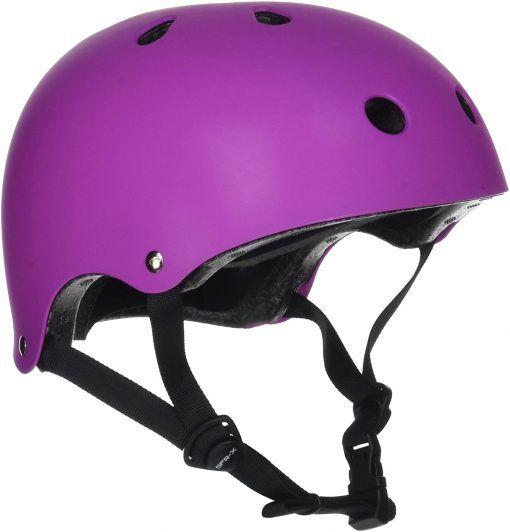 casco-integral-sfr-essentials-morado-niños